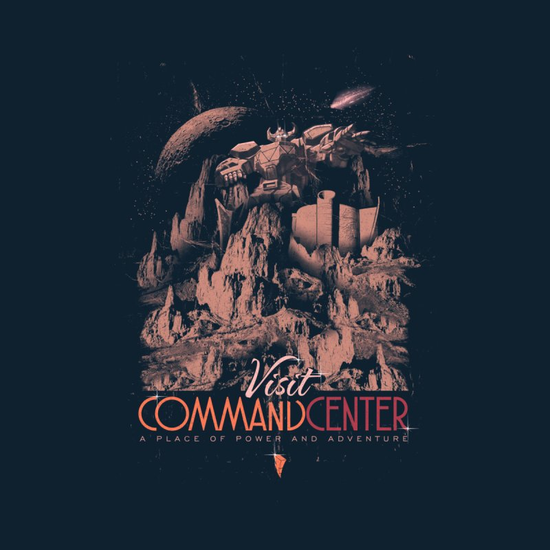 Visit CommandCenter Kids T-Shirt by jackduarte's Artist Shop