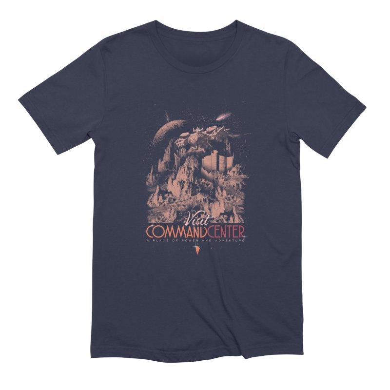 Visit CommandCenter Men's T-Shirt by jackduarte's Artist Shop