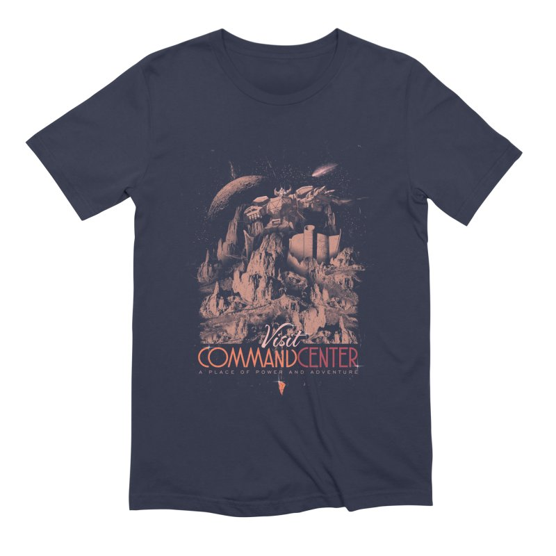 Visit CommandCenter Men's Extra Soft T-Shirt by jackduarte's Artist Shop