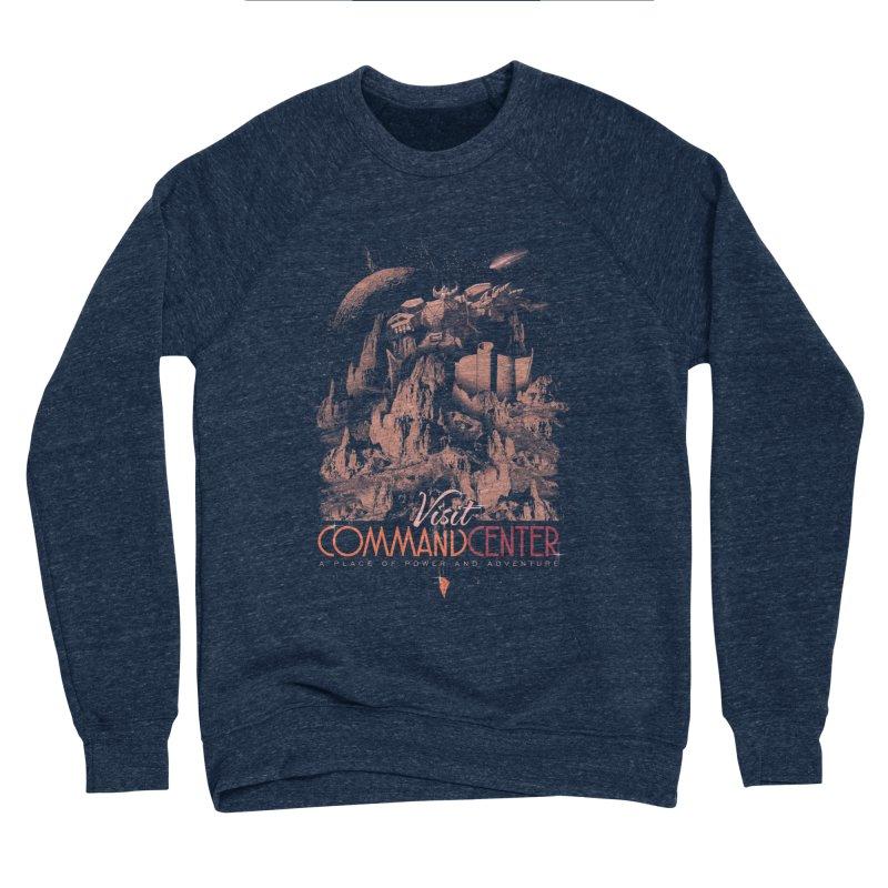 Visit CommandCenter Men's Sponge Fleece Sweatshirt by jackduarte's Artist Shop