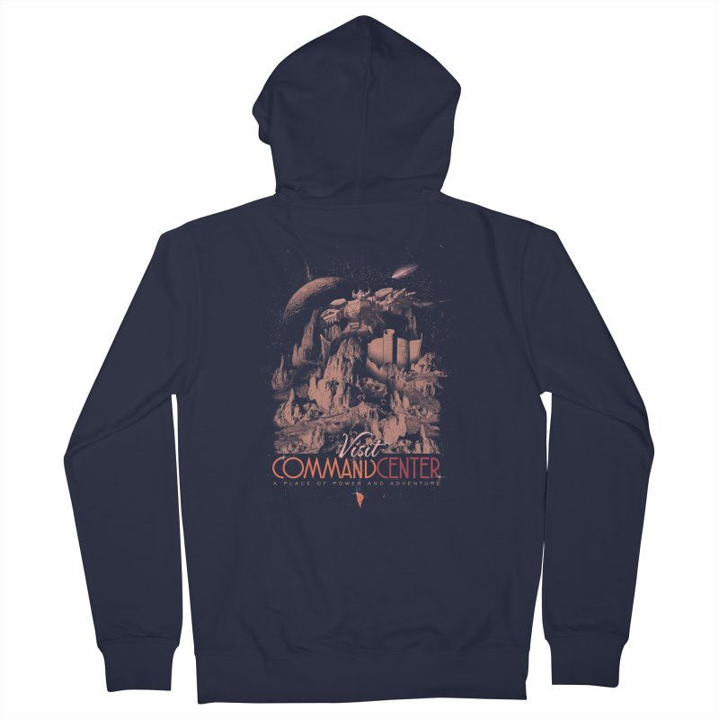 Visit CommandCenter Women's Zip-Up Hoody by jackduarte's Artist Shop
