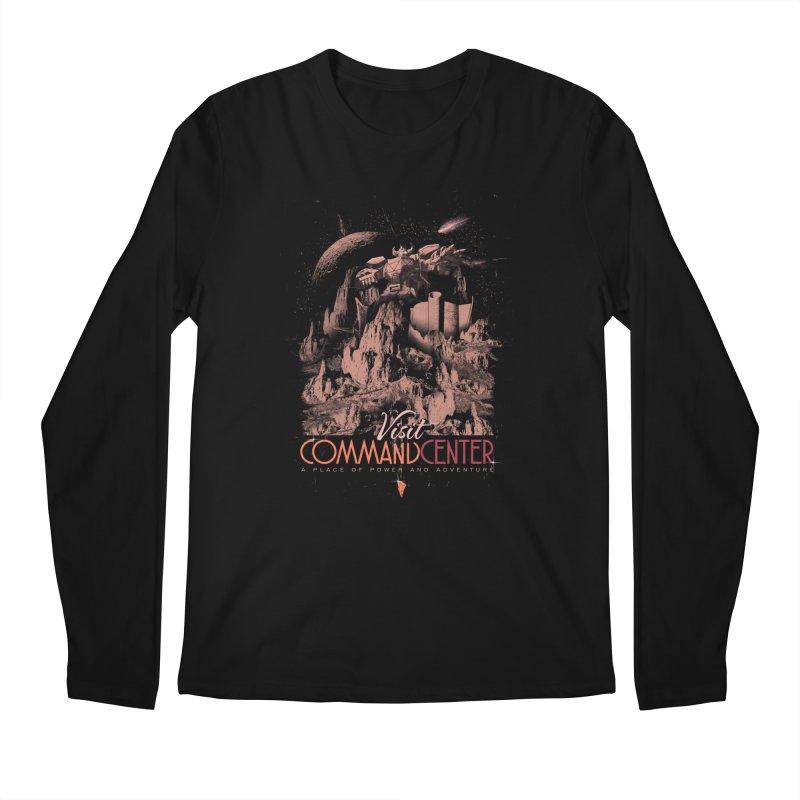 Visit CommandCenter Men's Longsleeve T-Shirt by jackduarte's Artist Shop