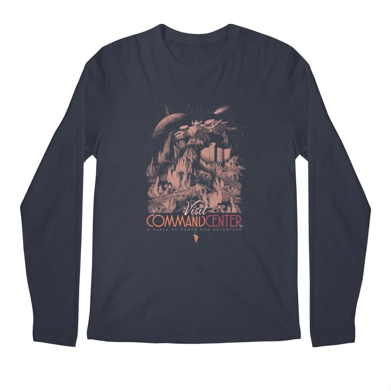 Visit CommandCenter Men's Longsleeve T-Shirt by jackduarte's Artist Shop