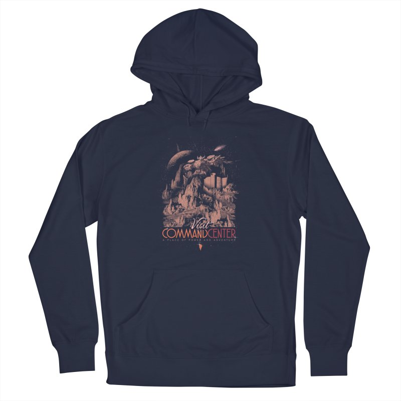 Visit CommandCenter Men's Pullover Hoody by jackduarte's Artist Shop