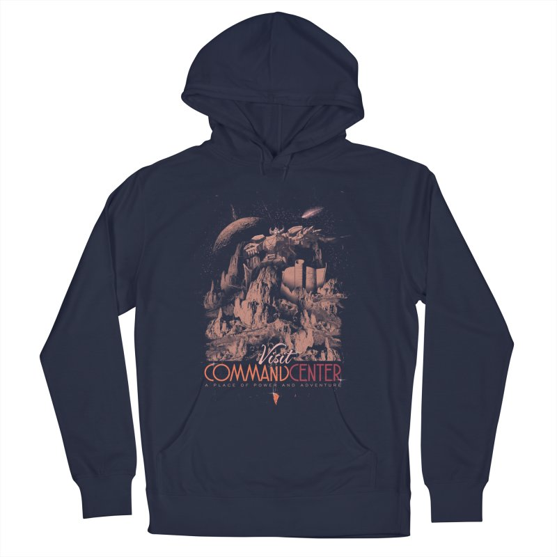 Visit CommandCenter Men's French Terry Pullover Hoody by jackduarte's Artist Shop