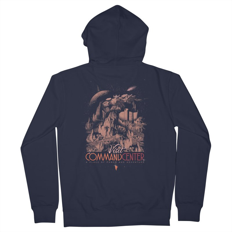 Visit CommandCenter Women's French Terry Zip-Up Hoody by jackduarte's Artist Shop