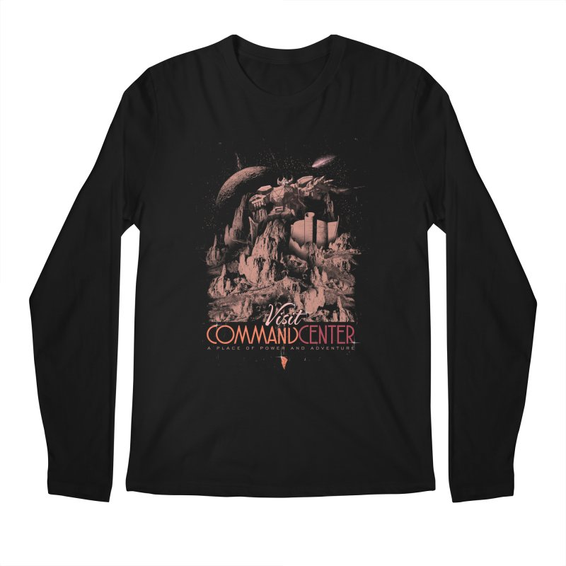 Visit CommandCenter Men's Regular Longsleeve T-Shirt by jackduarte's Artist Shop