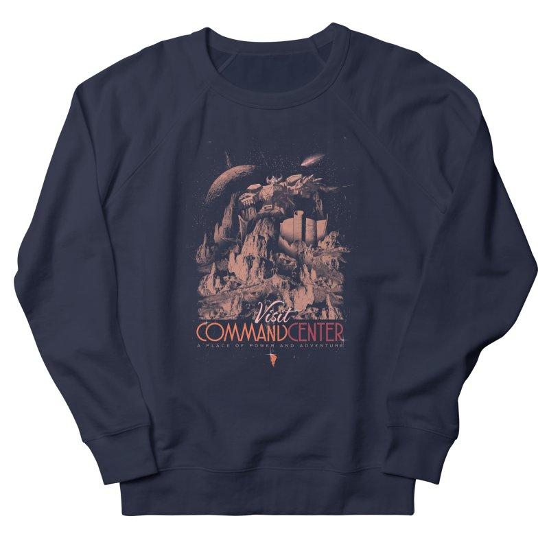 Visit CommandCenter Men's French Terry Sweatshirt by jackduarte's Artist Shop