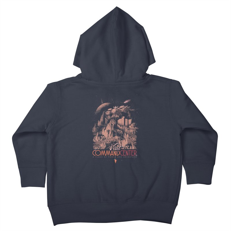 Visit CommandCenter Kids Toddler Zip-Up Hoody by jackduarte's Artist Shop