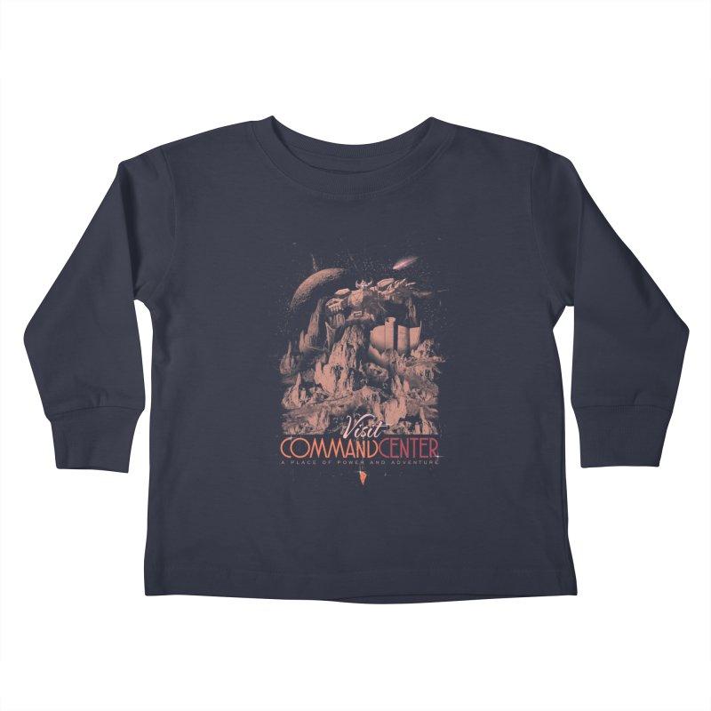 Visit CommandCenter Kids Toddler Longsleeve T-Shirt by jackduarte's Artist Shop