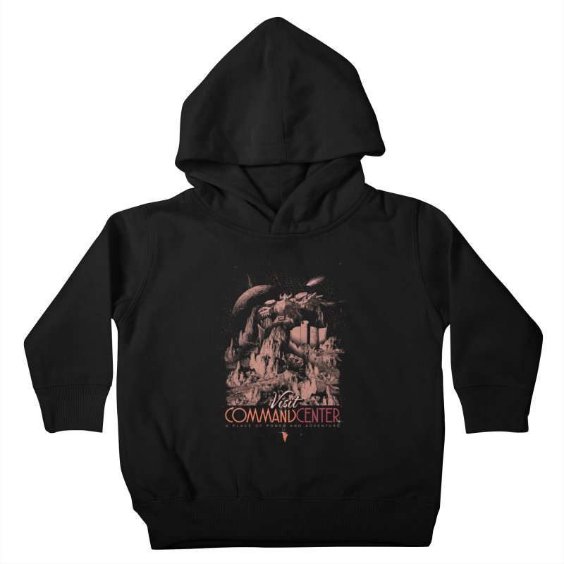 Visit CommandCenter Kids Toddler Pullover Hoody by jackduarte's Artist Shop
