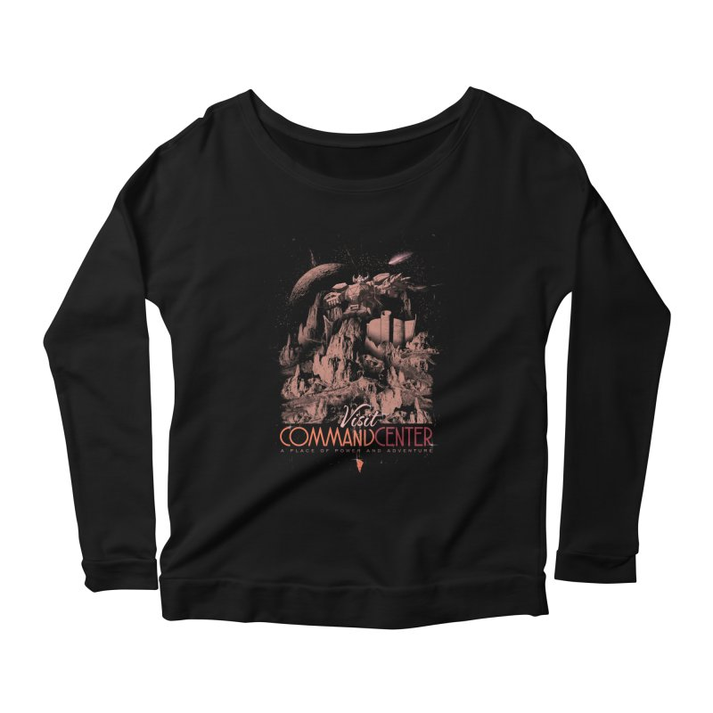 Visit CommandCenter Women's Scoop Neck Longsleeve T-Shirt by jackduarte's Artist Shop