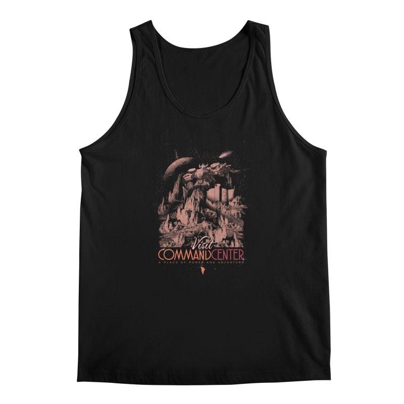 Visit CommandCenter Men's Tank by jackduarte's Artist Shop