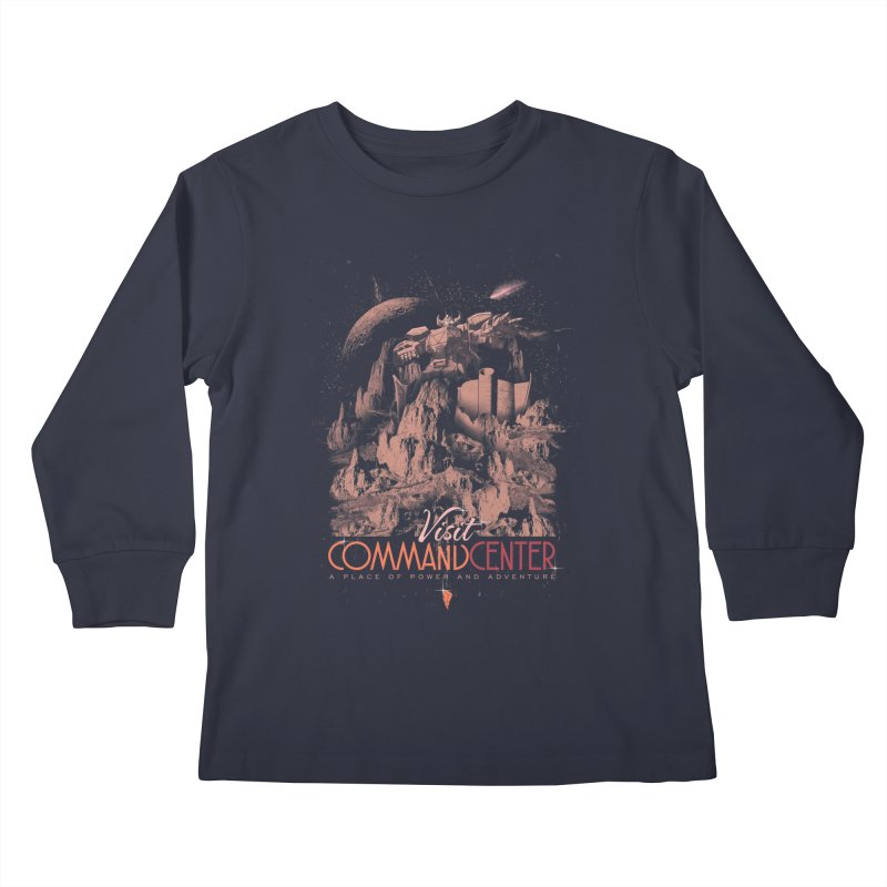 Visit CommandCenter Kids Longsleeve T-Shirt by jackduarte's Artist Shop
