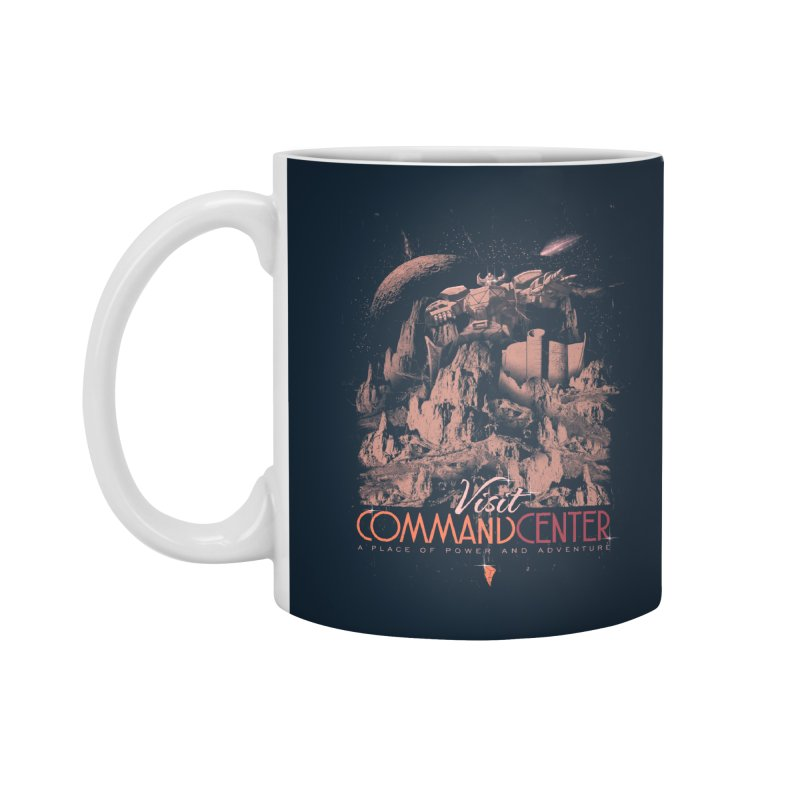 Visit CommandCenter Accessories Mug by jackduarte's Artist Shop