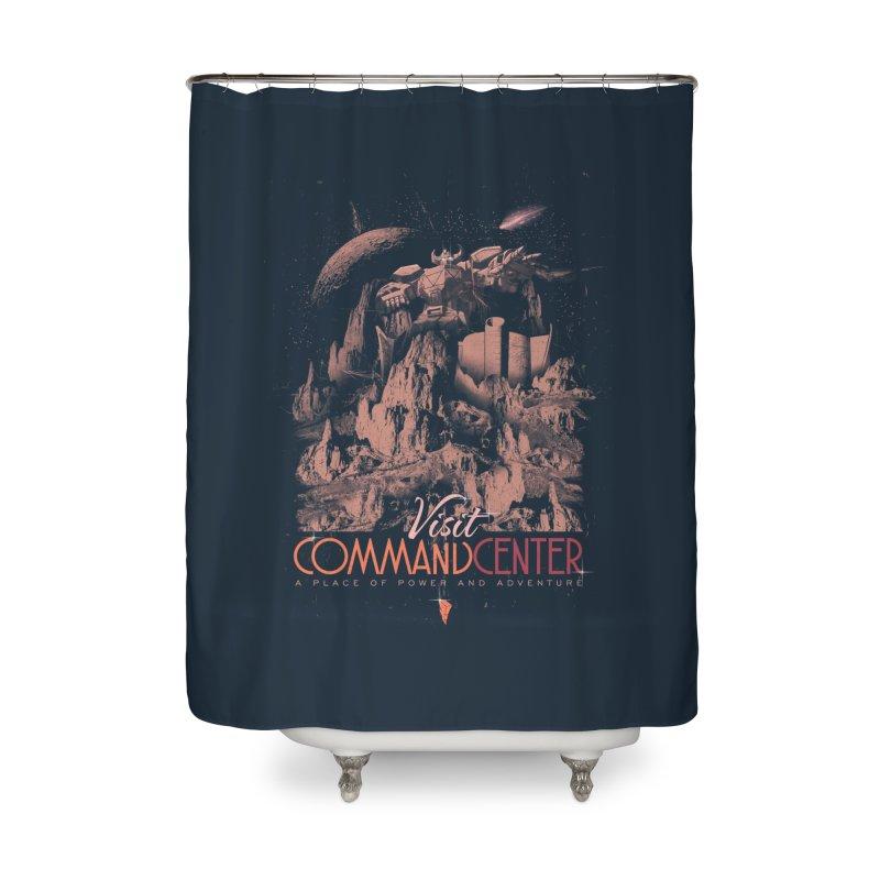 Visit CommandCenter Home Shower Curtain by jackduarte's Artist Shop