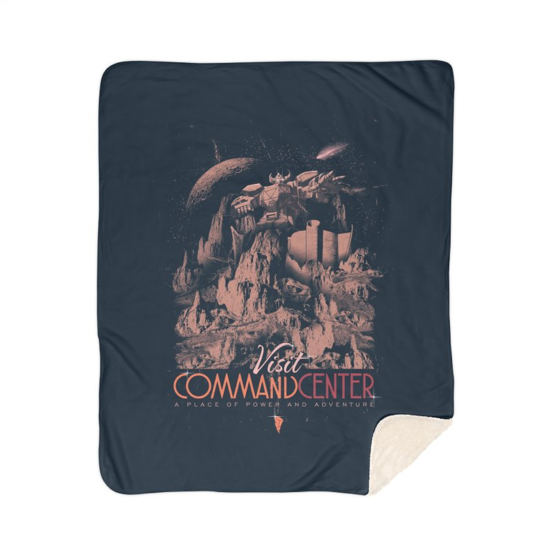 Visit CommandCenter Home Blanket by jackduarte's Artist Shop