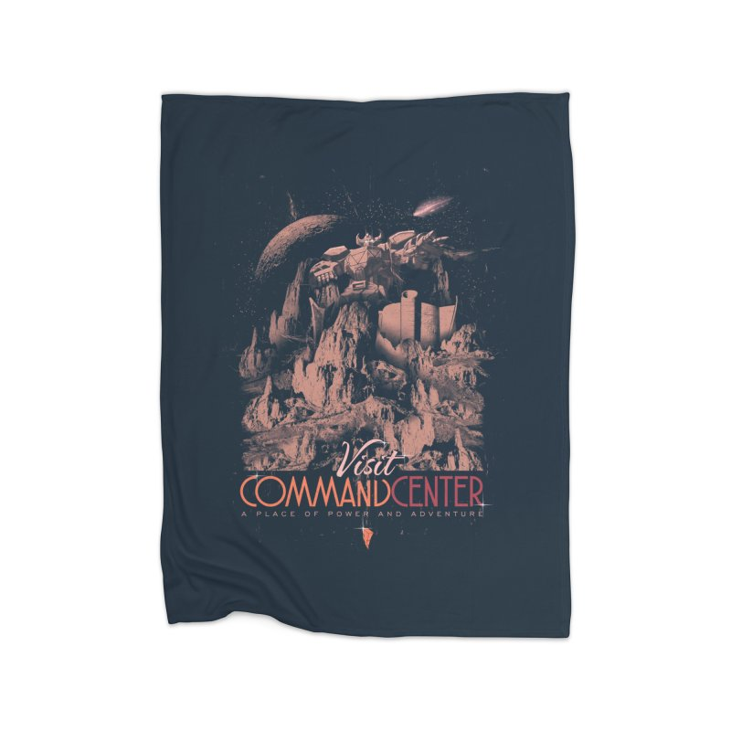 Visit CommandCenter Home Fleece Blanket Blanket by jackduarte's Artist Shop