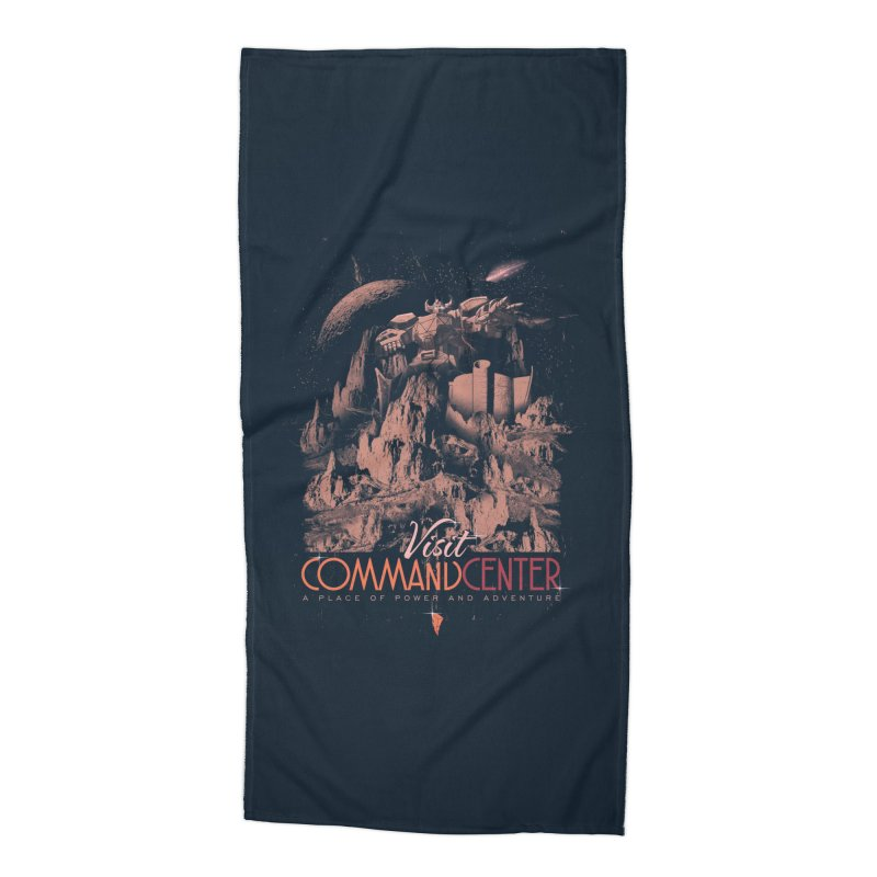 Visit CommandCenter Accessories Beach Towel by jackduarte's Artist Shop