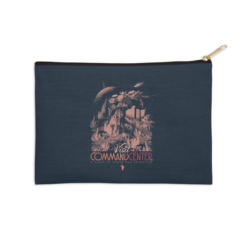 Visit CommandCenter Accessories Zip Pouch by jackduarte's Artist Shop