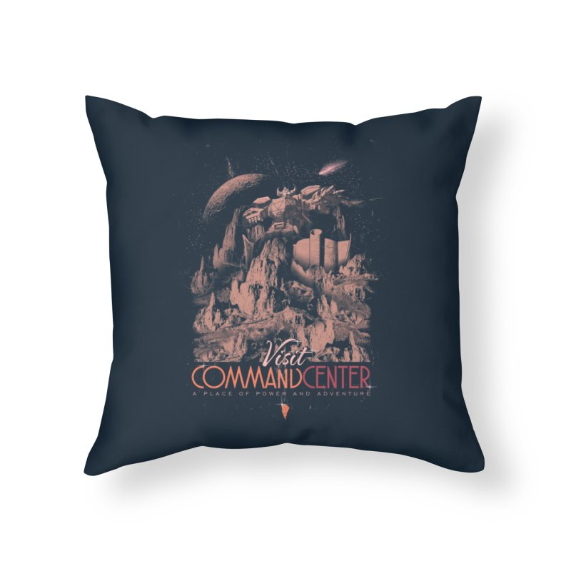 Visit CommandCenter Home Throw Pillow by jackduarte's Artist Shop