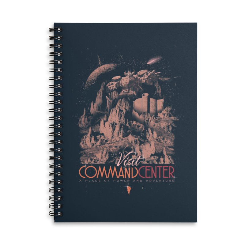 Visit CommandCenter Accessories Notebook by jackduarte's Artist Shop