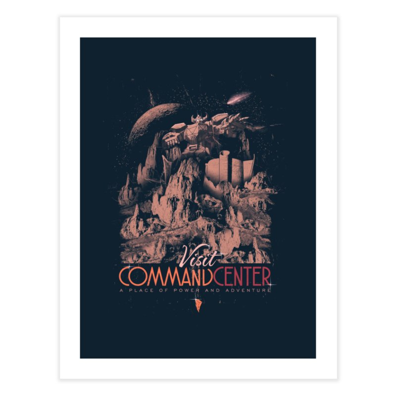 Visit CommandCenter Home Fine Art Print by jackduarte's Artist Shop