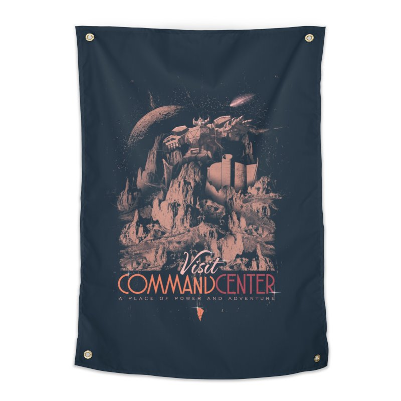 Visit CommandCenter Home Tapestry by jackduarte's Artist Shop