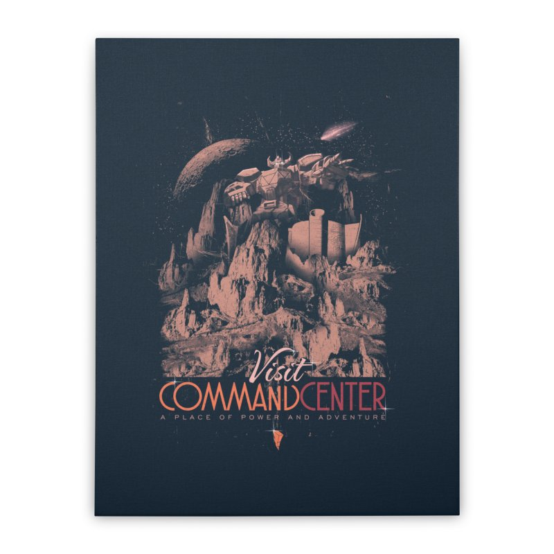 Visit CommandCenter Home Stretched Canvas by jackduarte's Artist Shop