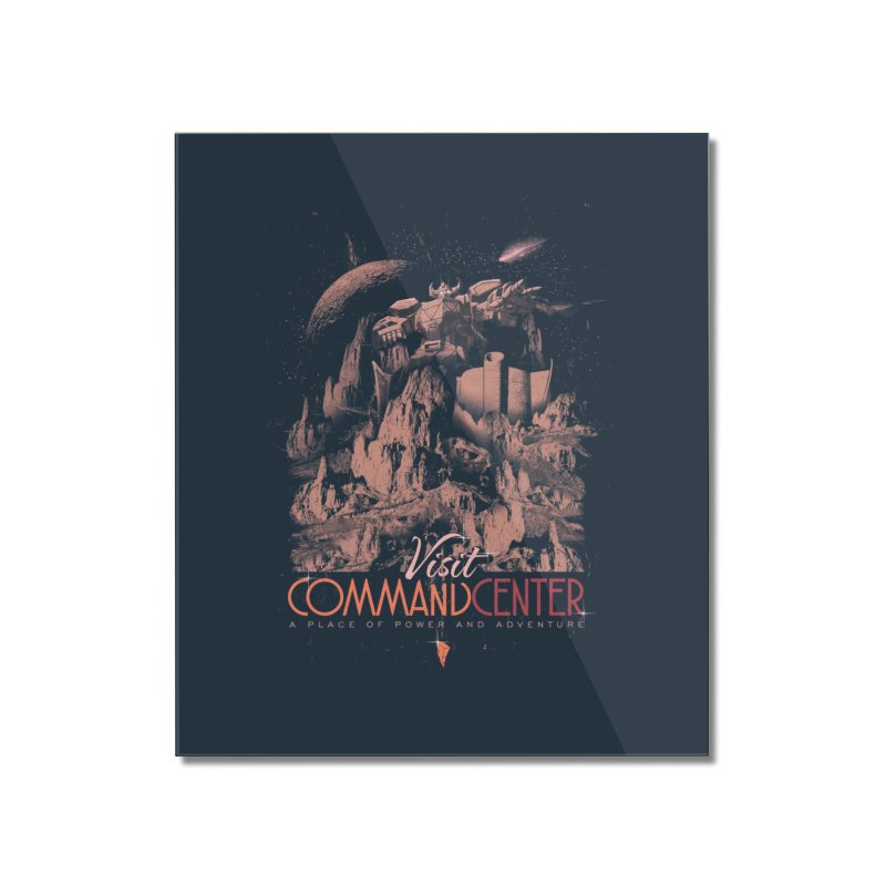 Visit CommandCenter Home Mounted Acrylic Print by jackduarte's Artist Shop