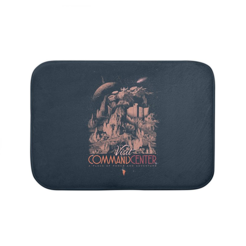 Visit CommandCenter Home Bath Mat by jackduarte's Artist Shop