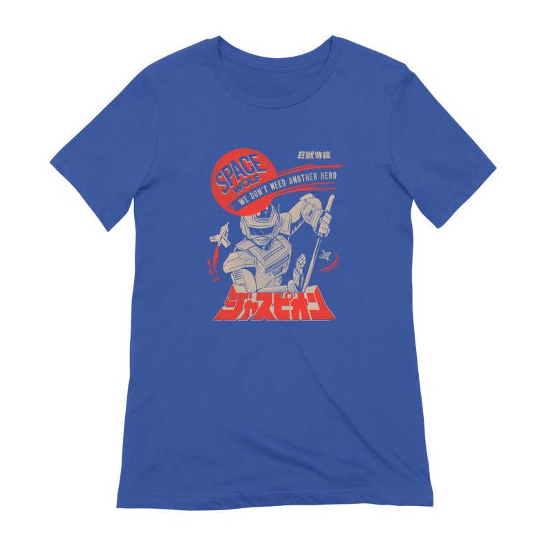 Space wolf Women's T-Shirt by jackduarte's Artist Shop