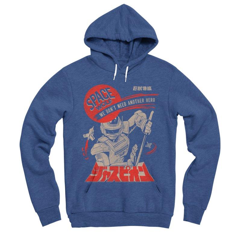 Space wolf Women's Pullover Hoody by jackduarte's Artist Shop
