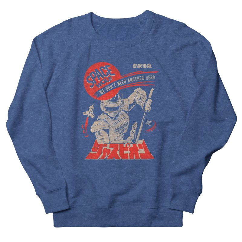 Space wolf Men's Sweatshirt by jackduarte's Artist Shop