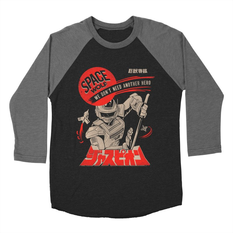 Space wolf Men's Longsleeve T-Shirt by jackduarte's Artist Shop