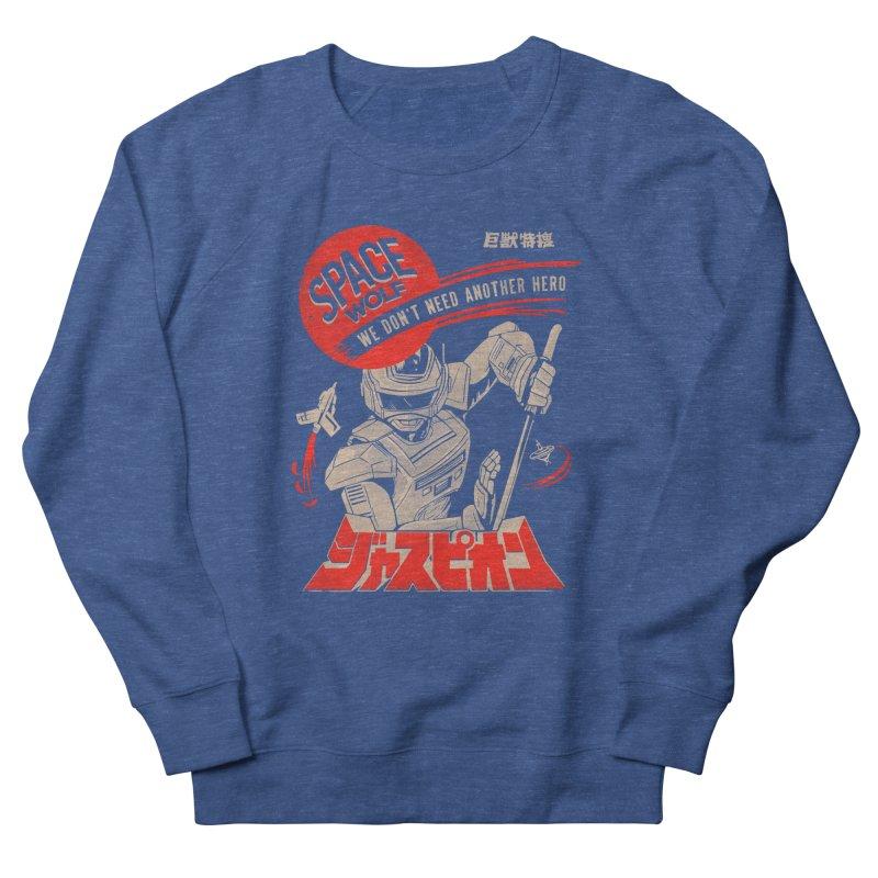 Space wolf Women's Sweatshirt by jackduarte's Artist Shop