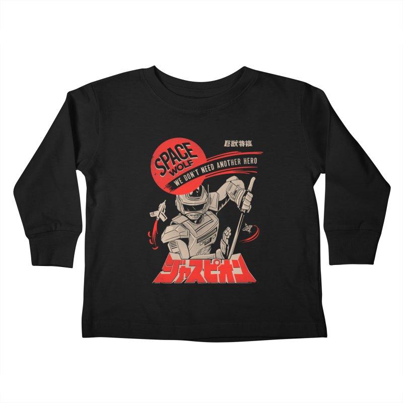 Space wolf Kids Toddler Longsleeve T-Shirt by jackduarte's Artist Shop
