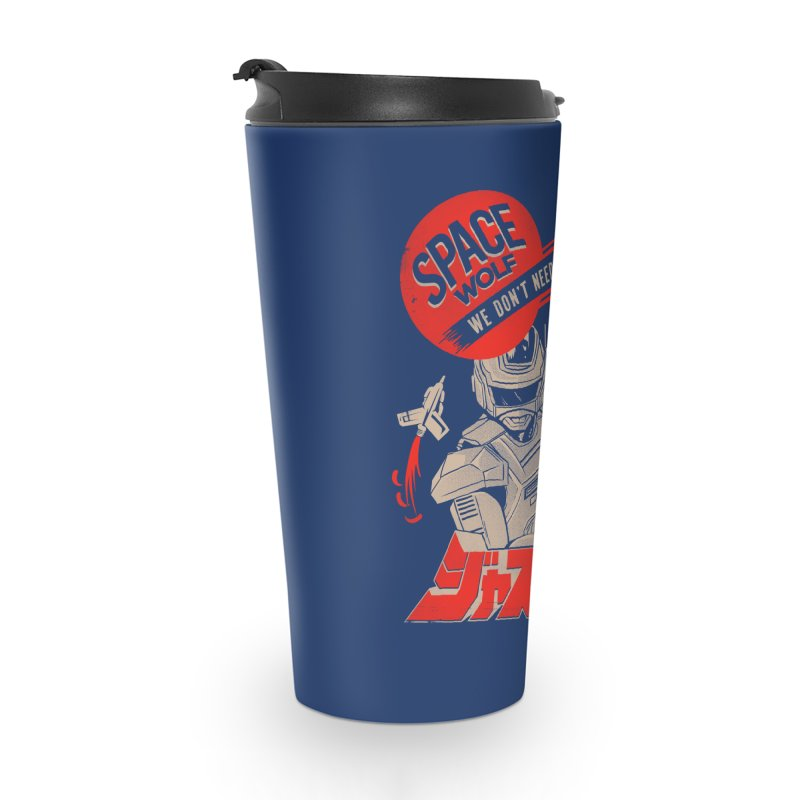 Space wolf Accessories Mug by jackduarte's Artist Shop