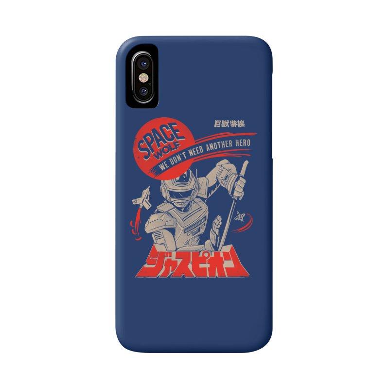 Space wolf Accessories Phone Case by jackduarte's Artist Shop
