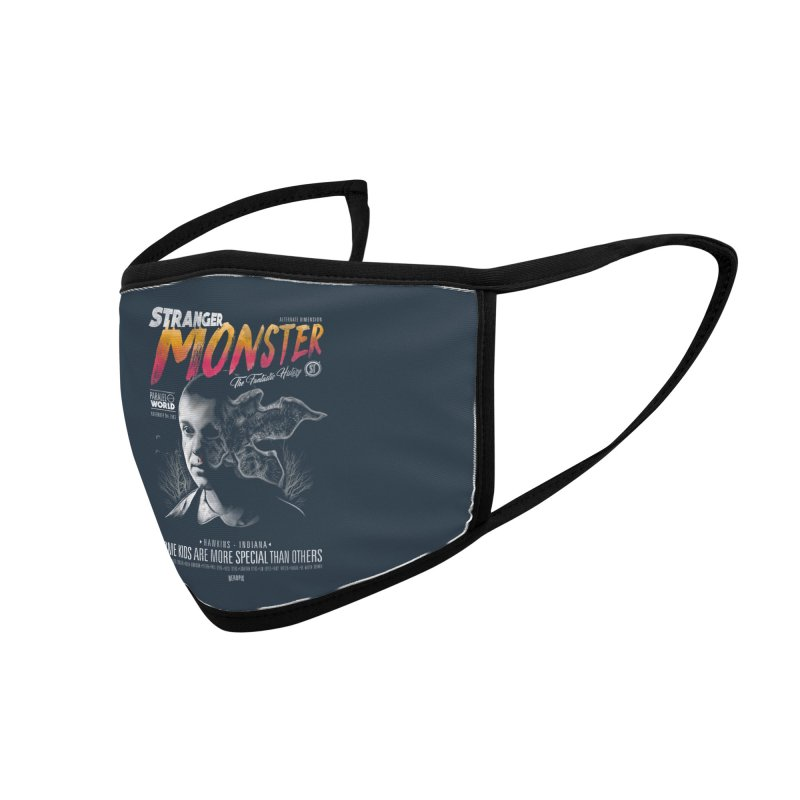 Stranger monster Accessories Face Mask by jackduarte's Artist Shop