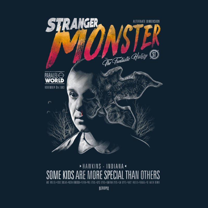 Stranger monster Men's Sweatshirt by jackduarte's Artist Shop