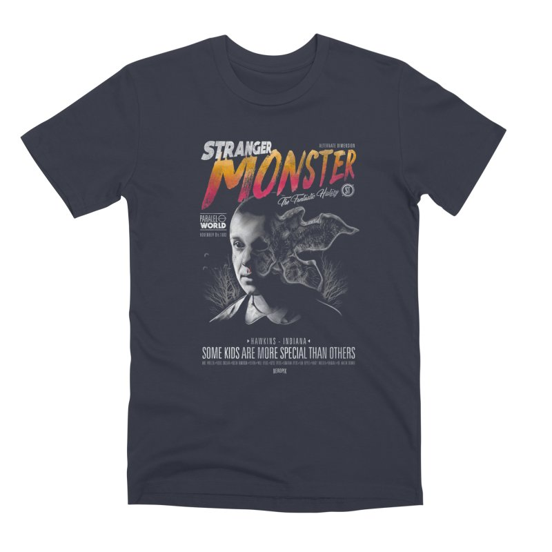 Stranger monster Men's T-Shirt by jackduarte's Artist Shop