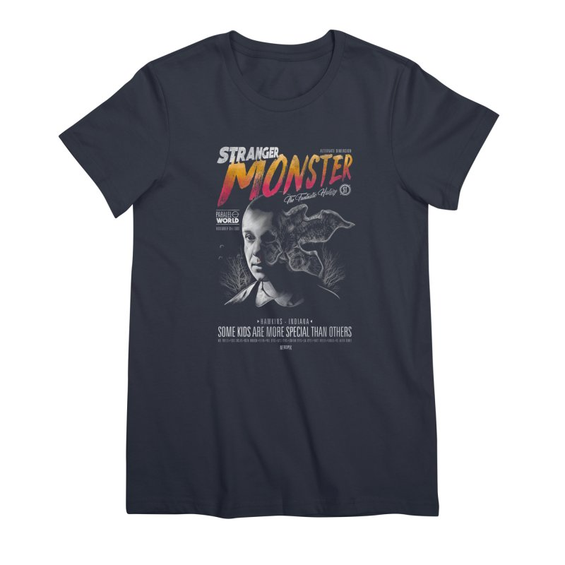 Stranger monster Women's Premium T-Shirt by jackduarte's Artist Shop