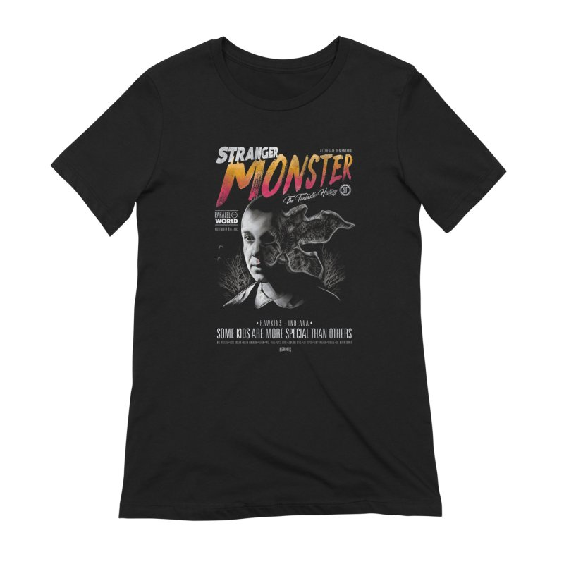 Stranger monster Women's Extra Soft T-Shirt by jackduarte's Artist Shop