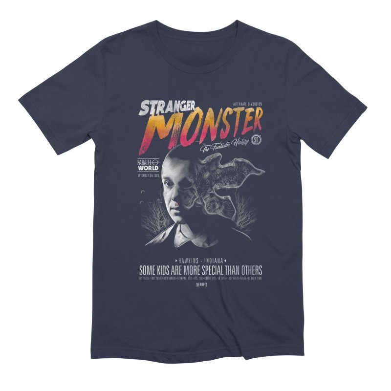 Stranger monster Men's Extra Soft T-Shirt by jackduarte's Artist Shop