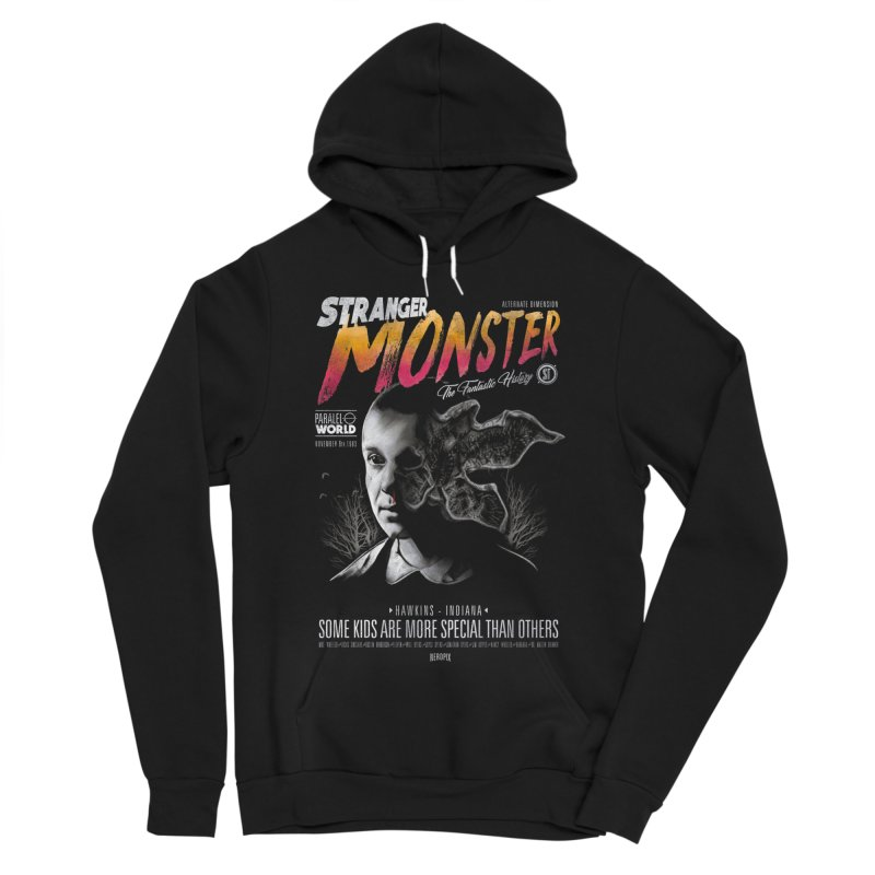 Stranger monster Women's Sponge Fleece Pullover Hoody by jackduarte's Artist Shop