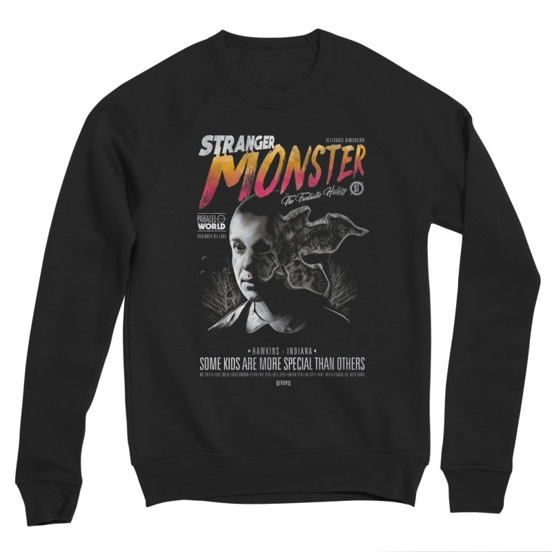 Stranger monster Men's Sponge Fleece Sweatshirt by jackduarte's Artist Shop