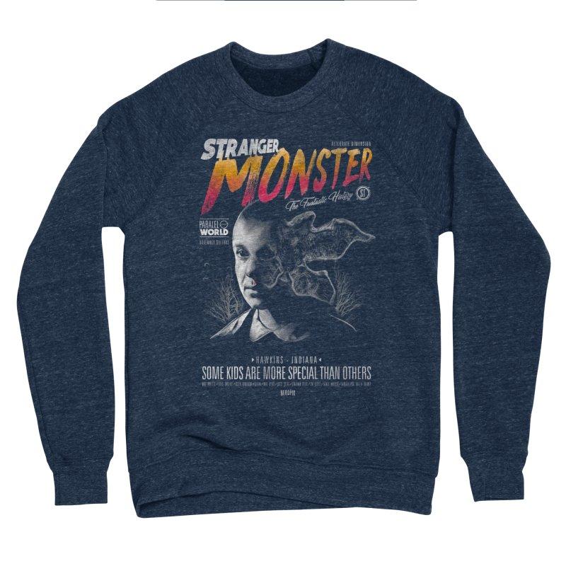 Stranger monster Women's Sponge Fleece Sweatshirt by jackduarte's Artist Shop