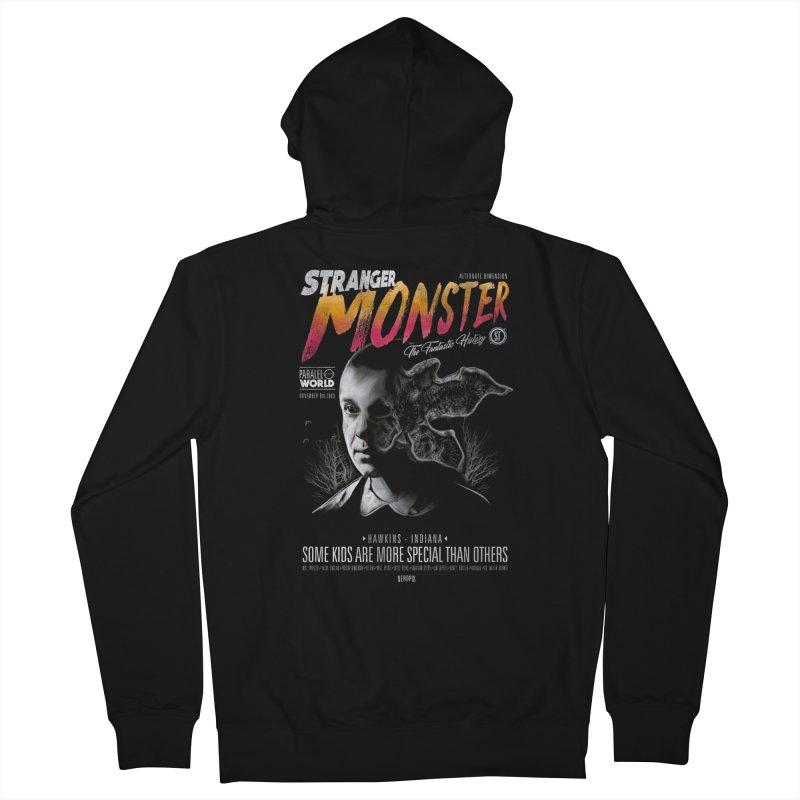 Stranger monster Men's Zip-Up Hoody by jackduarte's Artist Shop