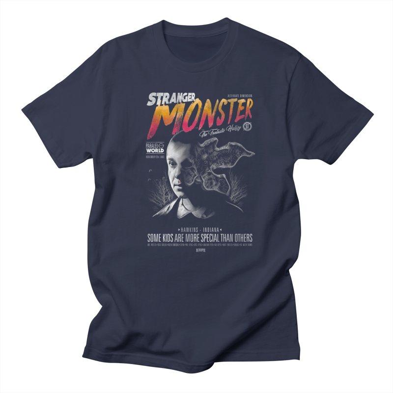 Stranger monster Men's T-Shirt by jackduarte's Artist Shop